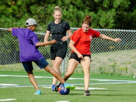 camp linguistique axé sur les sports