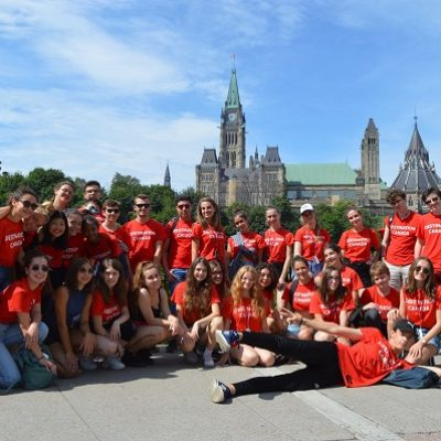 camp en immersion anglaise au Canada